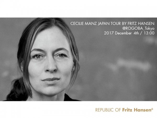 Cecilie Manz Japan Tour Rogoba